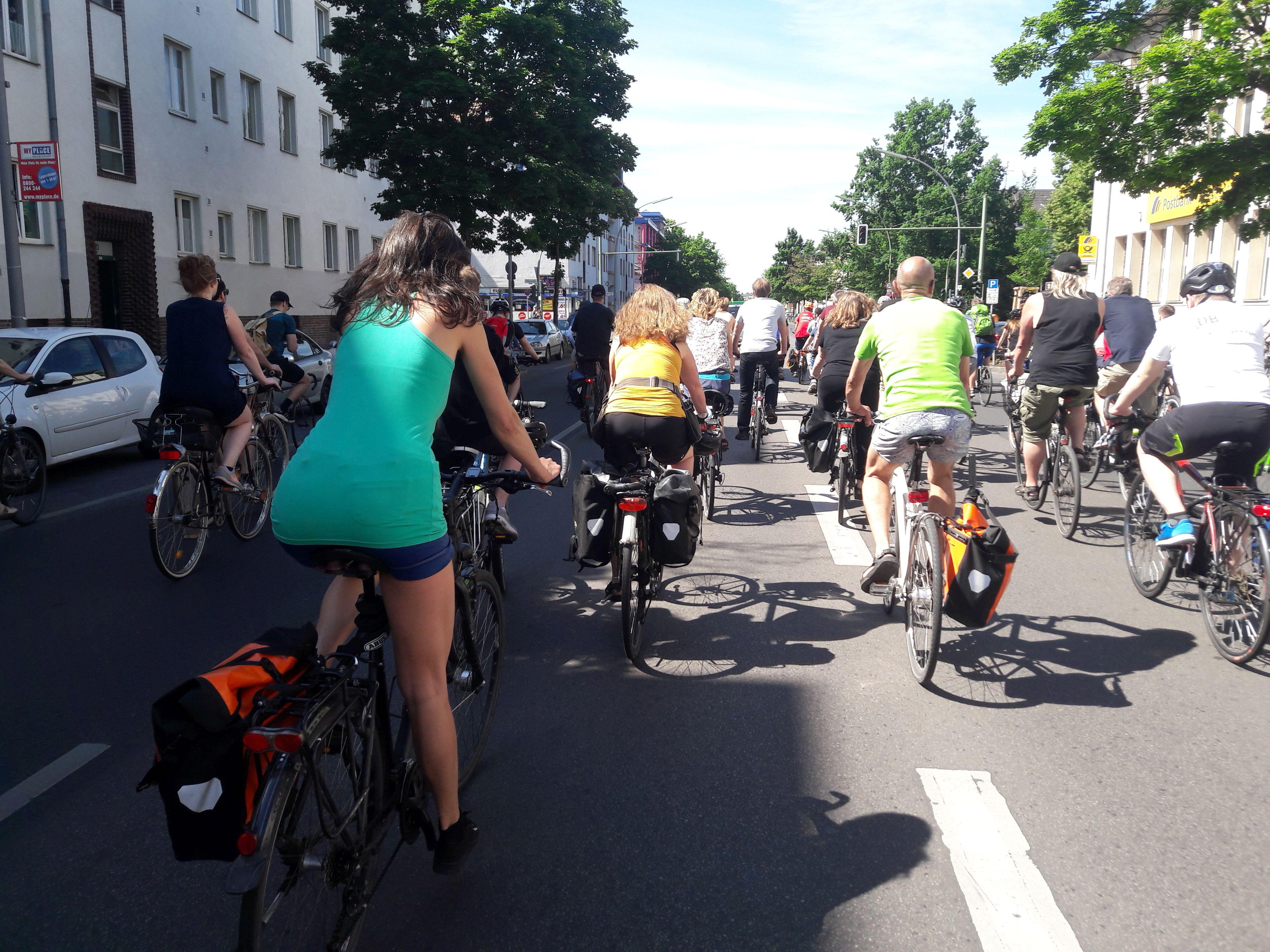 Berliner Fahrrad Sternfahrt 2017 Pavitro Net